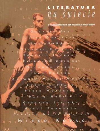 Okładka książki Literatura na świecie nr 7-8/2000 (348-349)