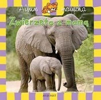 Okładka książki Zwierzęta z mamą