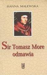 Okładka książki Sir Tomasz More odmawia