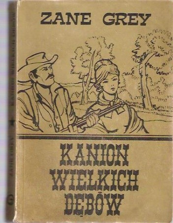 Okładka książki Kanion Wielkich Dębów