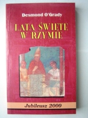 Okładka książki Lata Święte w Rzymie