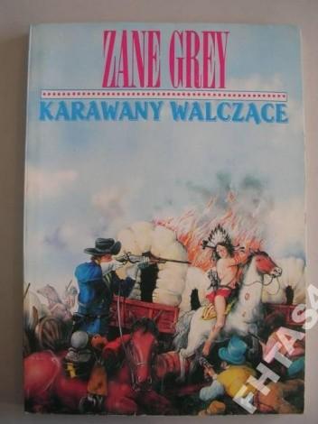 Okładka książki Karawany walczące