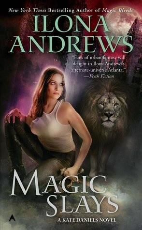 Okładka książki Magic Slays