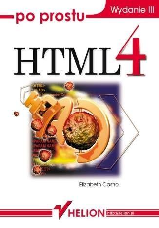 Okładka książki Po prostu HTML