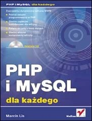 Okładka książki PHP i MySQL. Dla każdego