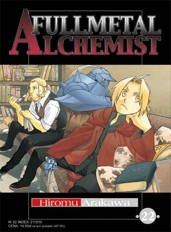 Okładka książki Fullmetal Alchemist t. 22