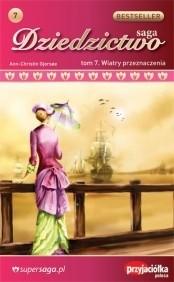 Okładka książki Wiatry przeznaczenia
