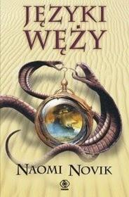 Okładka książki Języki węży