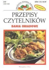 Okładka książki Przepisy Czytelników: Dania obiadowe