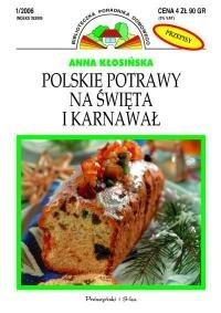 Okładka książki Polskie potrawy na święta i karnawał