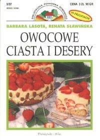 Okładka książki Owocowe ciasta i desery