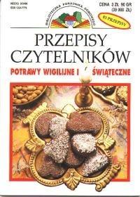 Okładka książki Potrawy wigilijne i świąteczne