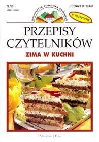 Okładka książki Przepisy Czytelników. Zima w kuchni
