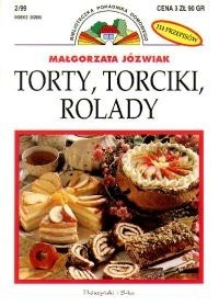 Okładka książki Torty, torciki, rolady