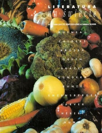 Okładka książki Literatura na świecie nr 12/1999 (341)