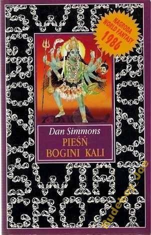 Okładka książki Pieśń Bogini Kali