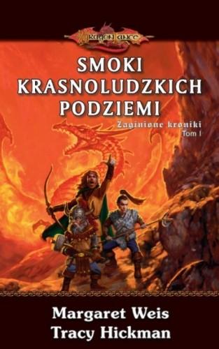 Okładka książki Zaginione kroniki. Tom 1. Smoki krasnoludzkich podziemi