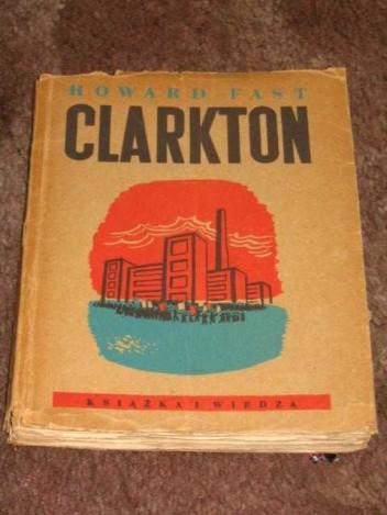 Okładka książki Clarkton