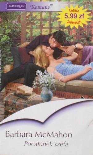 Okładka książki Pocałunek szefa