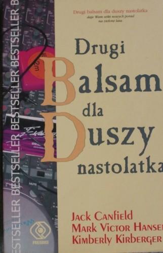 Okładka książki Drugi balsam dla duszy nastolatka