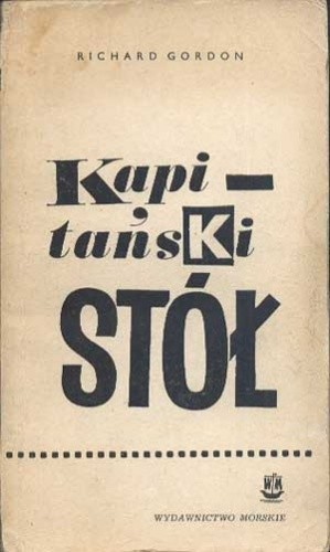 Okładka książki Kapitański stół