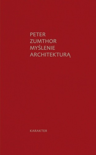 Okładka książki Myślenie architekturą