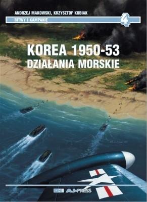 Okładka książki Korea 1950-53 : działania morskie