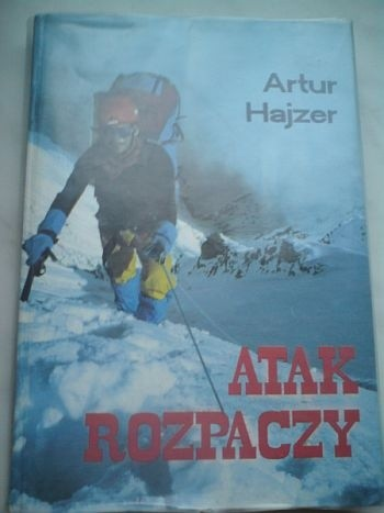 Okładka książki Atak rozpaczy