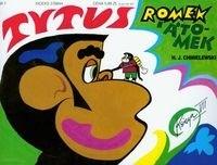 Okładka książki Tytus, Romek i A'Tomek. Księga VII. Tytus poprawia dwójkę z geografii Polski