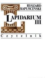 Okładka książki Lapidarium III