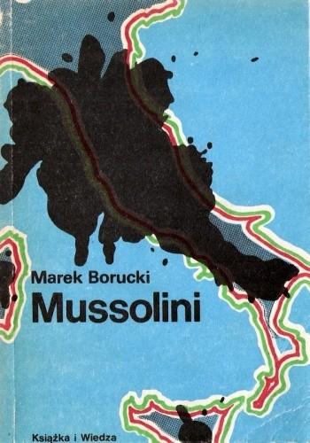 Okładka książki Mussolini