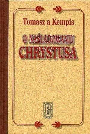 Okładka książki O naśladowaniu Chrystusa