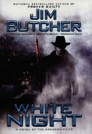 Okładka książki White Night