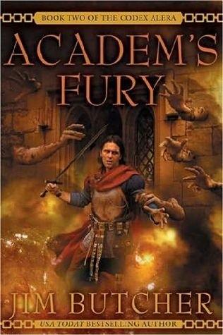 Okładka książki Academ's Fury