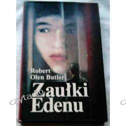 Okładka książki Zaułki Edenu