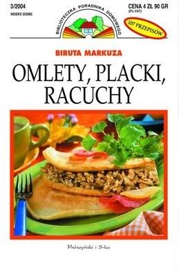 Okładka książki Omlety, placki, racuchy: 84 przepisy