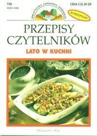 Okładka książki Przepisy Czytelników:Lato w kuchni