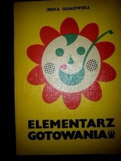 Okładka książki Elementarz gotowania