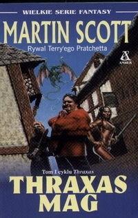 Okładka książki Thraxas Mag