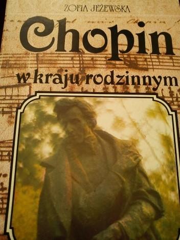 Okładka książki Chopin w kraju rodzinnym