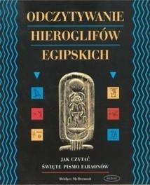 Okładka książki Odczytywanie hieroglifów egipskich