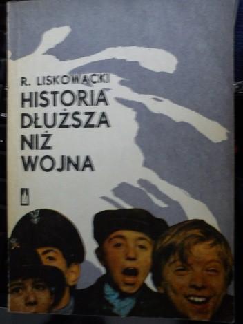 Okładka książki Historia dłuższa niż wojna