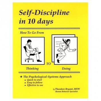 Okładka książki Self-Discipline in 10 days