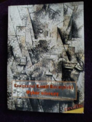 Okładka książki Wybór Wierszy