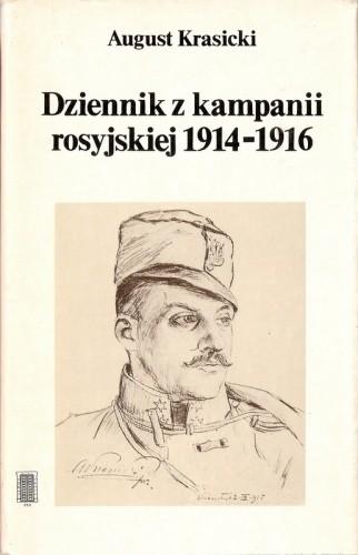 Okładka książki Dziennik z kampanii rosyjskiej 1914-1916