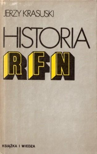 Okładka książki Historia RFN