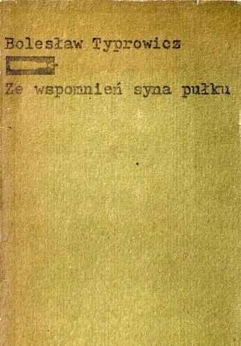 Okładka książki Ze wspomnień syna pułku