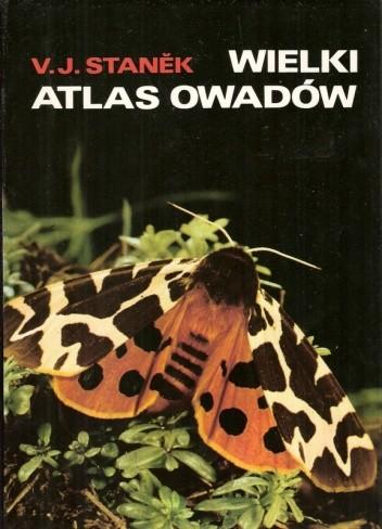 Okładka książki Wielki atlas owadów