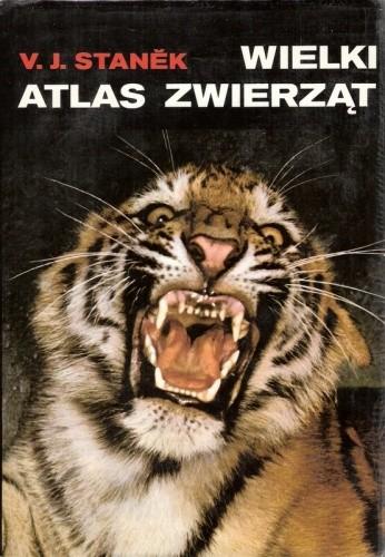Okładka książki Wielki atlas zwierząt