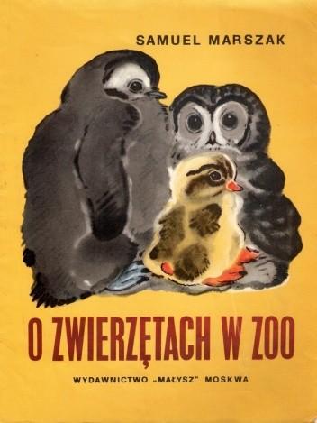 Okładka książki O zwierzętach w zoo